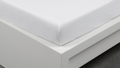 Froté prostěradlo Exclusive dvoulůžko - bílé 180x200 cm