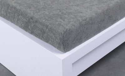 Froté prostěradlo Exclusive dvoulůžko - šedé 180x200 cm