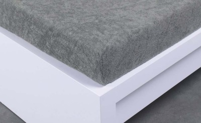 Froté prostěradlo Exclusive dvoulůžko - šedé 140x200 cm